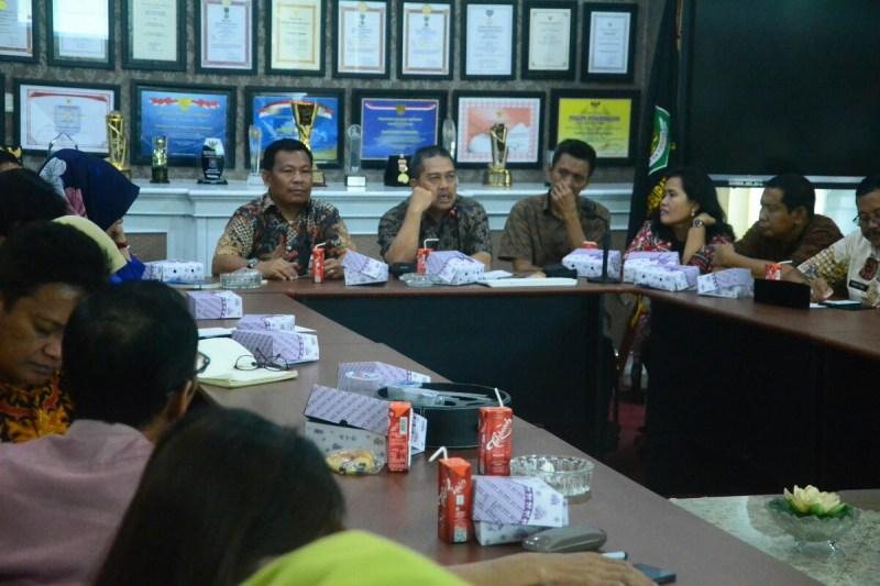 Bank Sulselbar Rapat Koordinasi Pemkab Pinrang