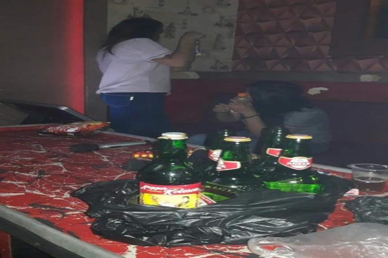 Ribuan Botol Miras dan BalloA� Dimusnahkan Kapolres Pinrang