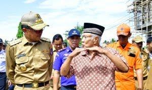 Gubernur SulSel Kunjungi Korban Banjir di Marioriawa di Dampingi Sekda Soppeng