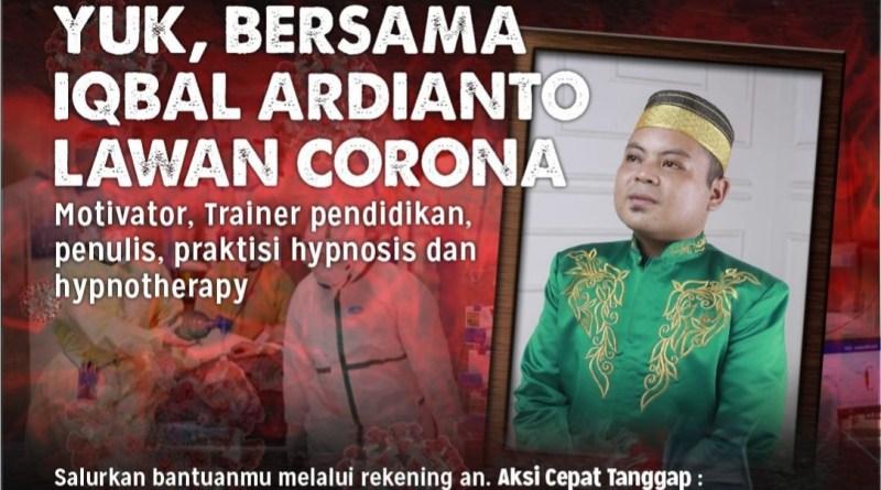 Bersama ACT Sulsel, Iqbal Ardianto Lawan Corona