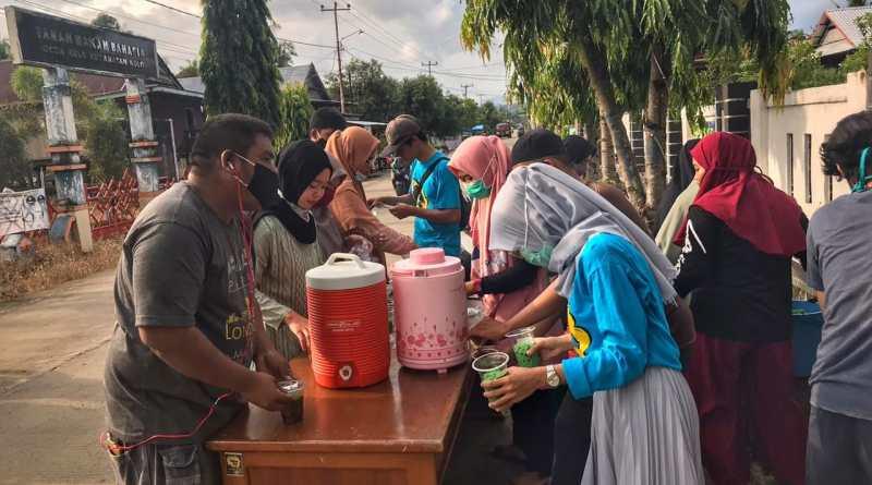 Momentum Ramadan, Karang Taruna Kulo Sidrap Lakukan Ini