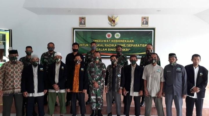 Dandim 1404 Pinrang Ajak DPD Wahdah Islamiyah Bersinergi Dengan Pemerintah