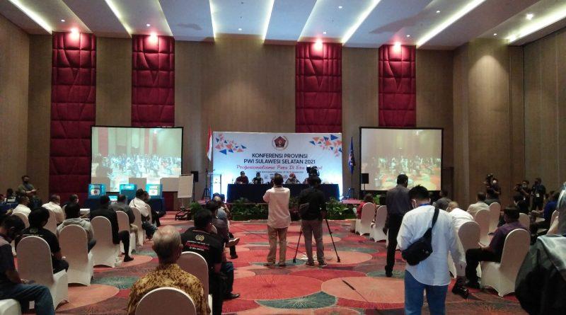 Konferprov PWI Sulsel 2021, Agus Salim Alwi Hamu Terpilih Aklamasi