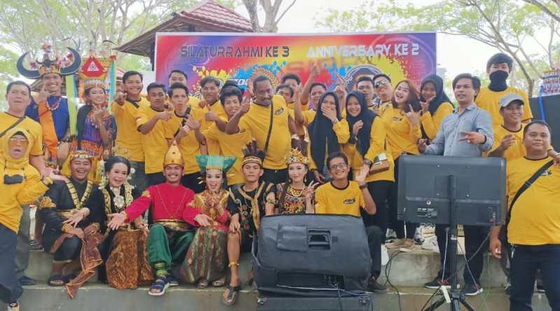Meriah, Anniversary Ke - 2 AXS Sidrap di Taman Puncak Bila