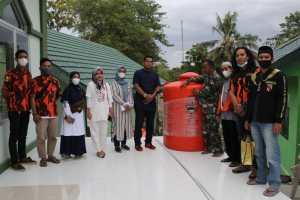 2 Organisasi Kepemudaan Soppeng, Salurkan Bantuan Pembangunan Masjid Al Ikhlas