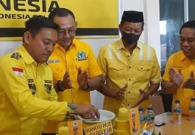 Rayakan Hari Jadi Golkar ke 57, H. Pilli Minta Kader dan Simpatisan Kampanyekan Airlangga Hartarto Capres