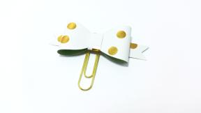 Planner Clip Polka Dots