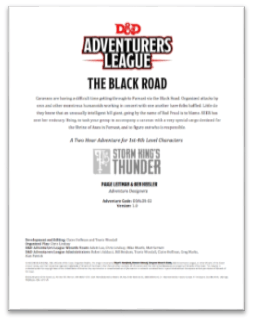 5E Adventure Review: The Black Road – Merric's Musings