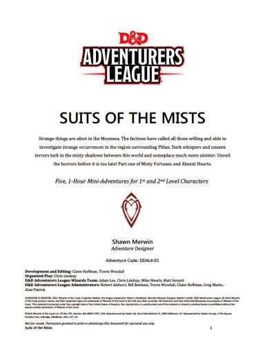 Curse of Strahd – Merric's Musings