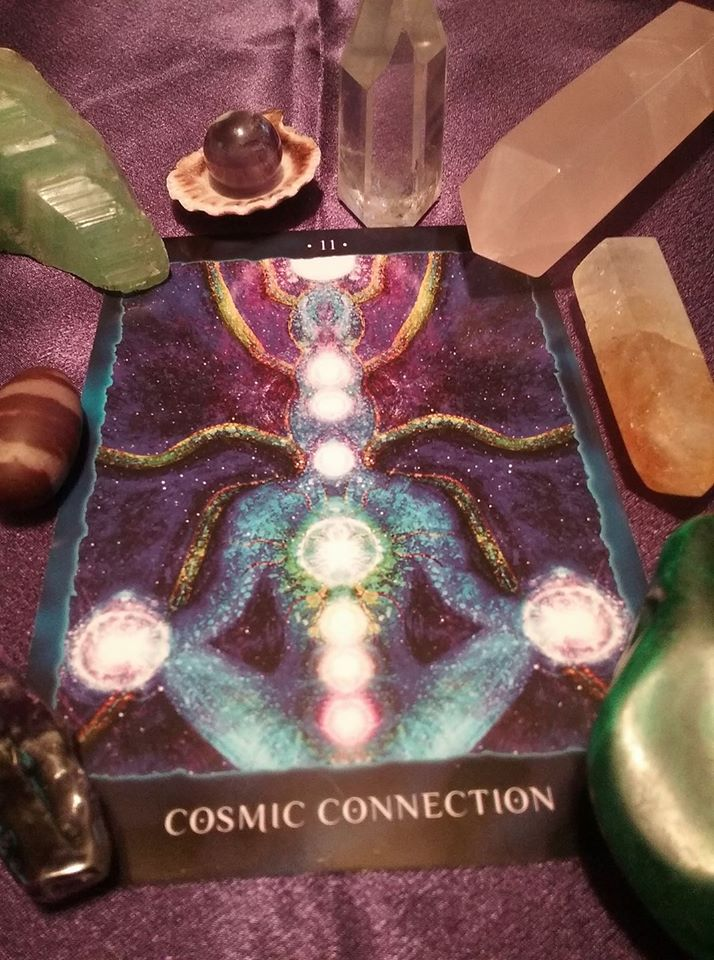 COSMIC CONNECTION (COSMIC READING CARD FOR 1/22/18)