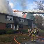 Merrimac Fire Department Battles 3-Alarm Blaze in Apartment Complex