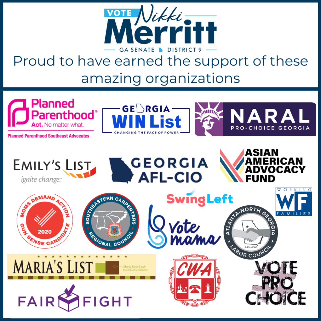 Proud to have the support of these organizations