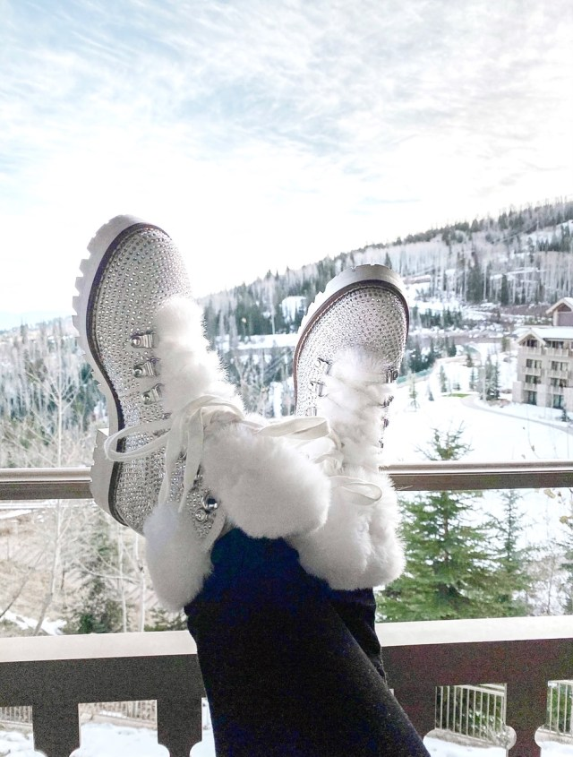 winter ski boots