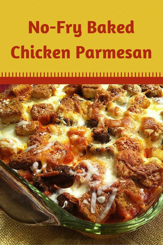 No Fry Chicken Parm Recipe A Family Favorite Merry About Town