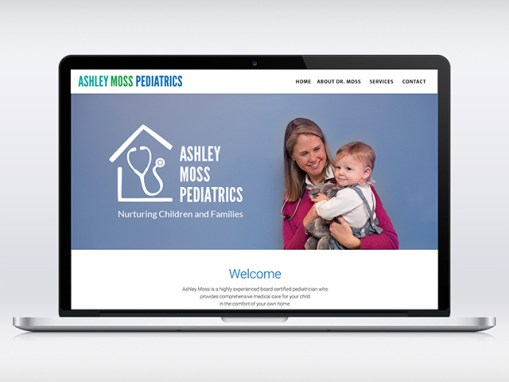 Pediatric Practice | Logo & Website