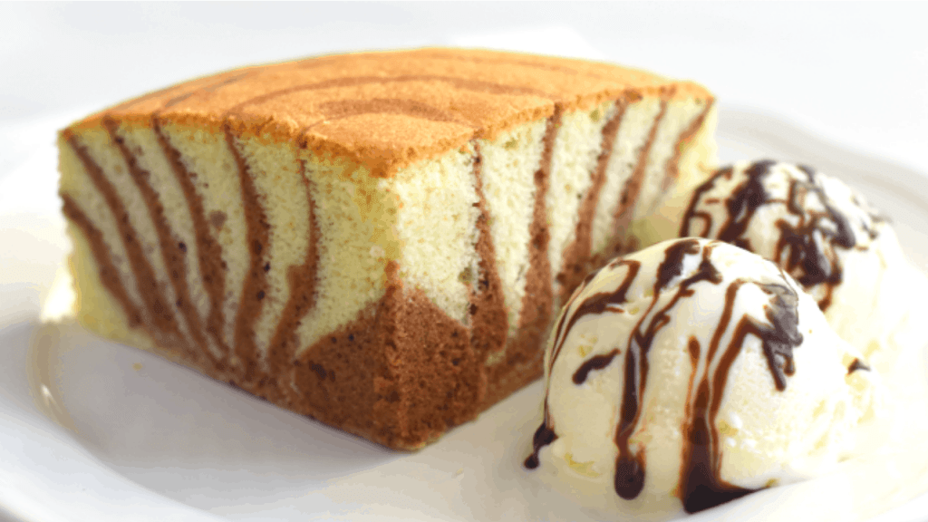 Zebra Cake Merryboosters Slathered in decadent chocolate cream cheese frosting, the real visual stunner happens when you cut into it and reveal the whirls and swirls of beautiful batter. zebra cake merryboosters
