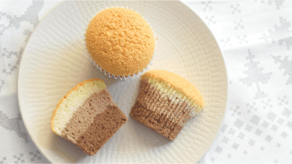 vanilla and chocolate cupcake recipe