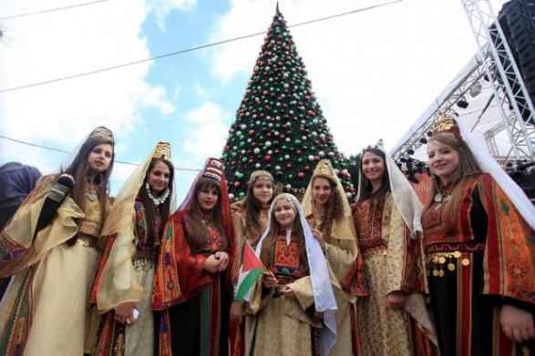 Christmas Celebration in The Palestinian Territories