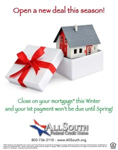 AllSouth Federal Credit Union ad