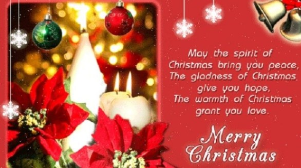 Happy Christmas Wishes Images