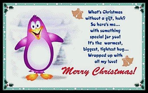 Funny christmas poems