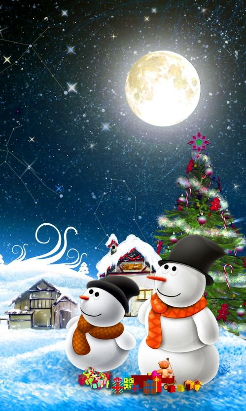 christmas wallpaper for smartphone