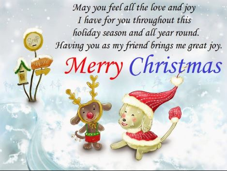 Merry Christmas Greetings With Images