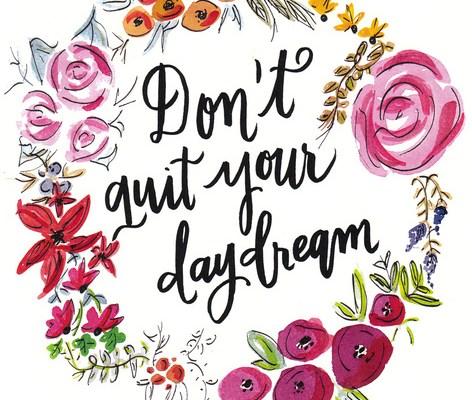 Μην παρατάς το ονειροπόλημά σου! 😏