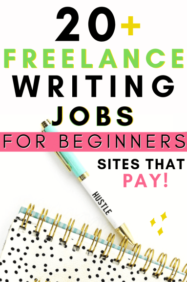 Freelance Writing Jobs Online For Beginners Work From Home Websites That Pay Money Earn Extra Money Side Hustle