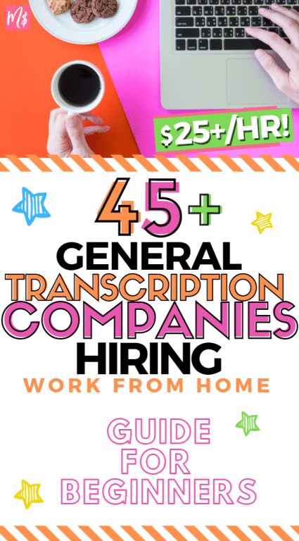 General Transcription Companies Hiring, Remote Work From Home Jobs, Guide for Beginners, Transcription, Transcribing, Transcribe, Side Hustle Tips Hacks, Extra Income, WFH jobs, SAHM jobs, make money from home