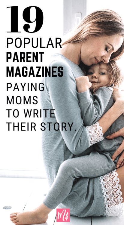 A mother hugging her daughter. Article is about making money freelance writing, parenting advice, parenting tips, and article writing for parent magazines.