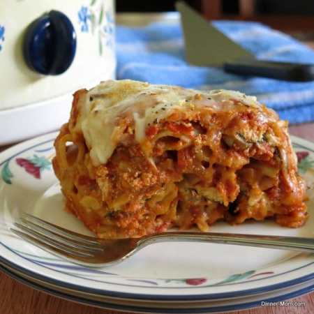 Crock Pot Baked Ziti with Three Cheeses, 25 Easy 5-Ingredient Meals for Under $5 To Feed a Whole Family
