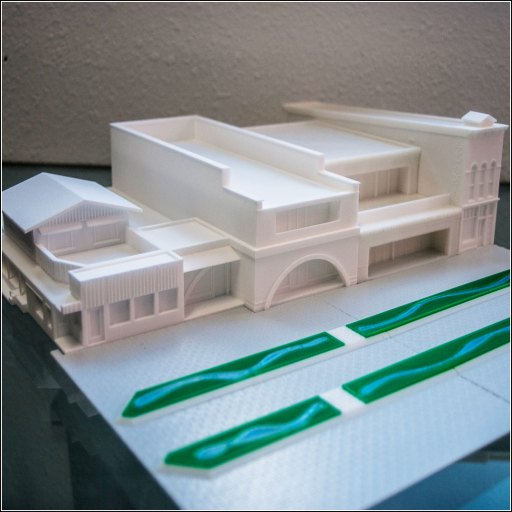 3D-Printed-Model-of-Aspen-Cooper-Mall-Buildings