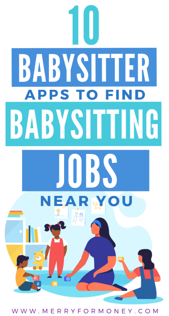 babysitting jobs, near me, how to find, babysitting jobs for teens, babysitter, how to get babysitting jobs, babysitting tips, side hustle, make money, earn extra money for teens, babysitting side job, apps