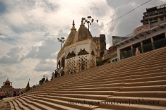 temples dot the entire ghat, you'll never run out of them