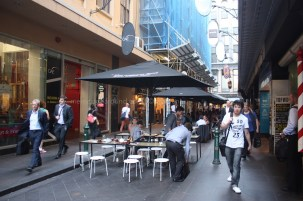 The laneways of Melbourne - bustling mazes of life, food and fun.