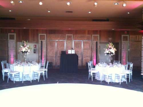 My BOSE Speakers with Up-Lighting at Dove Canyon Country Club