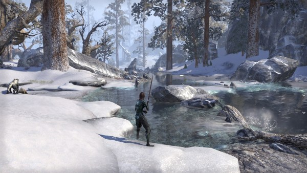 Rivers, Waterfalls, Mountains, Woods- Wrothgar offers everything you'd expect from a cold zone.
