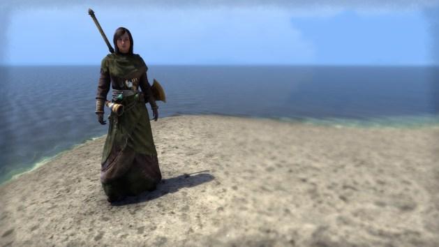Elder Scrolls Online - Priest of the Green costume