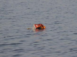 dechet en mer