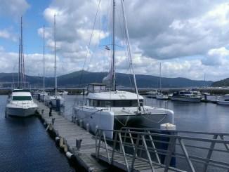 catamaran au port