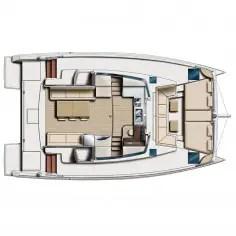 catamaran Bali 4.0. Plan