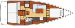 oceanis 38.1 plans