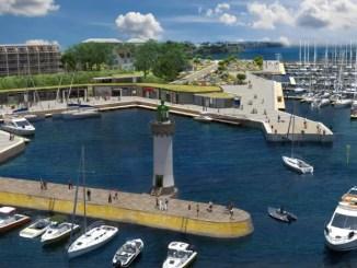 projet port haliguen