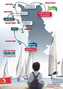 parcours tour des ports manche
