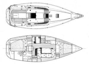 beneteau-oceanis-320-plan