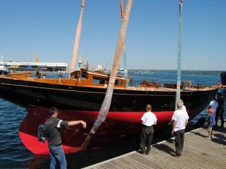 voilier Séverine au Chantier du Guip