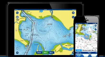 7 applications de navigation avec cartographie pour le nautisme