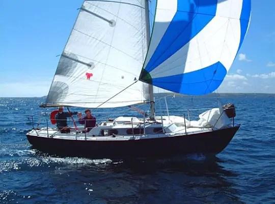 achilles 24 voilier triquille