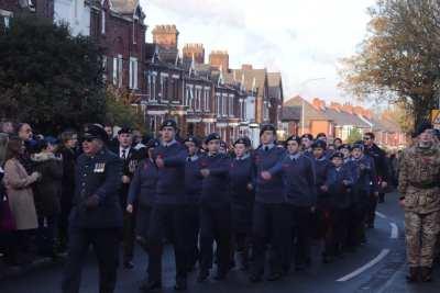 Runcorn Air Cadets Marching